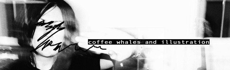 Coffee Whales and Illustration