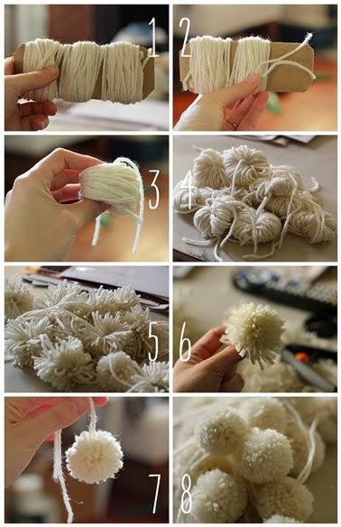 Guirnaldas para navidad hechas a mano decorar decoraci n - Cocinas hechas a mano ...