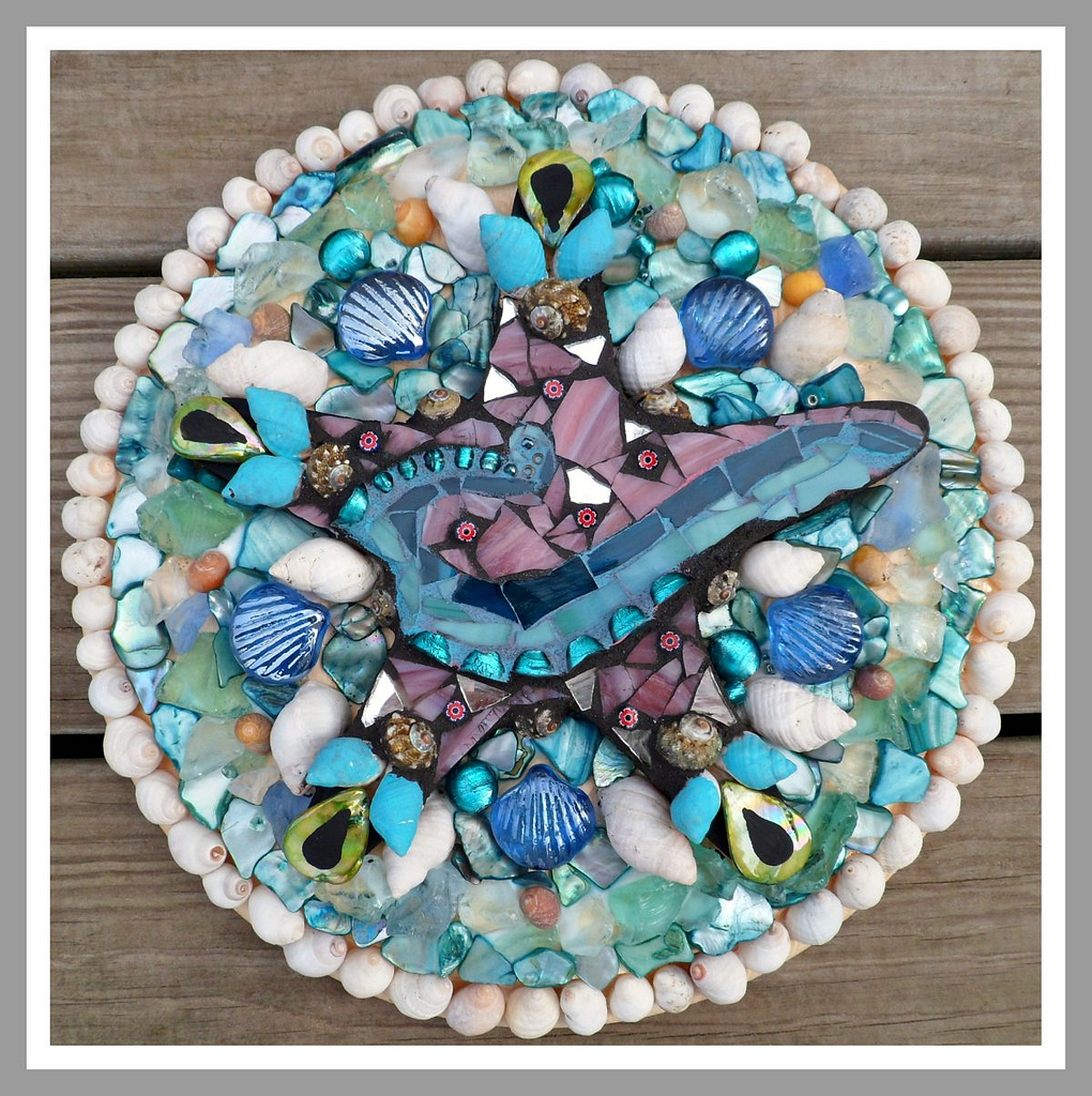 PieceMaker Mosaic Artists: Sailor's Valentine Challenge.. time to VOTE!