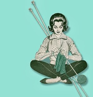 Love Knitting, Love Vintage, Love Vintage Knitting