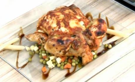 Şef Ceyda Bazadan Fırında Tavuk - Videolu Tarifi