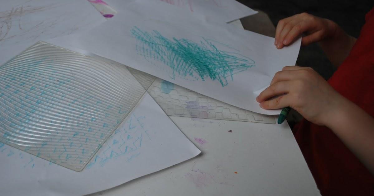 Familylicious Preschool Projects Crayon Rubbings