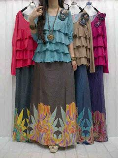 Maxi Denim + Blus Jersey fit to L