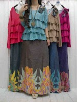 Maxi Denim + Blus Jersey SOLD OUT