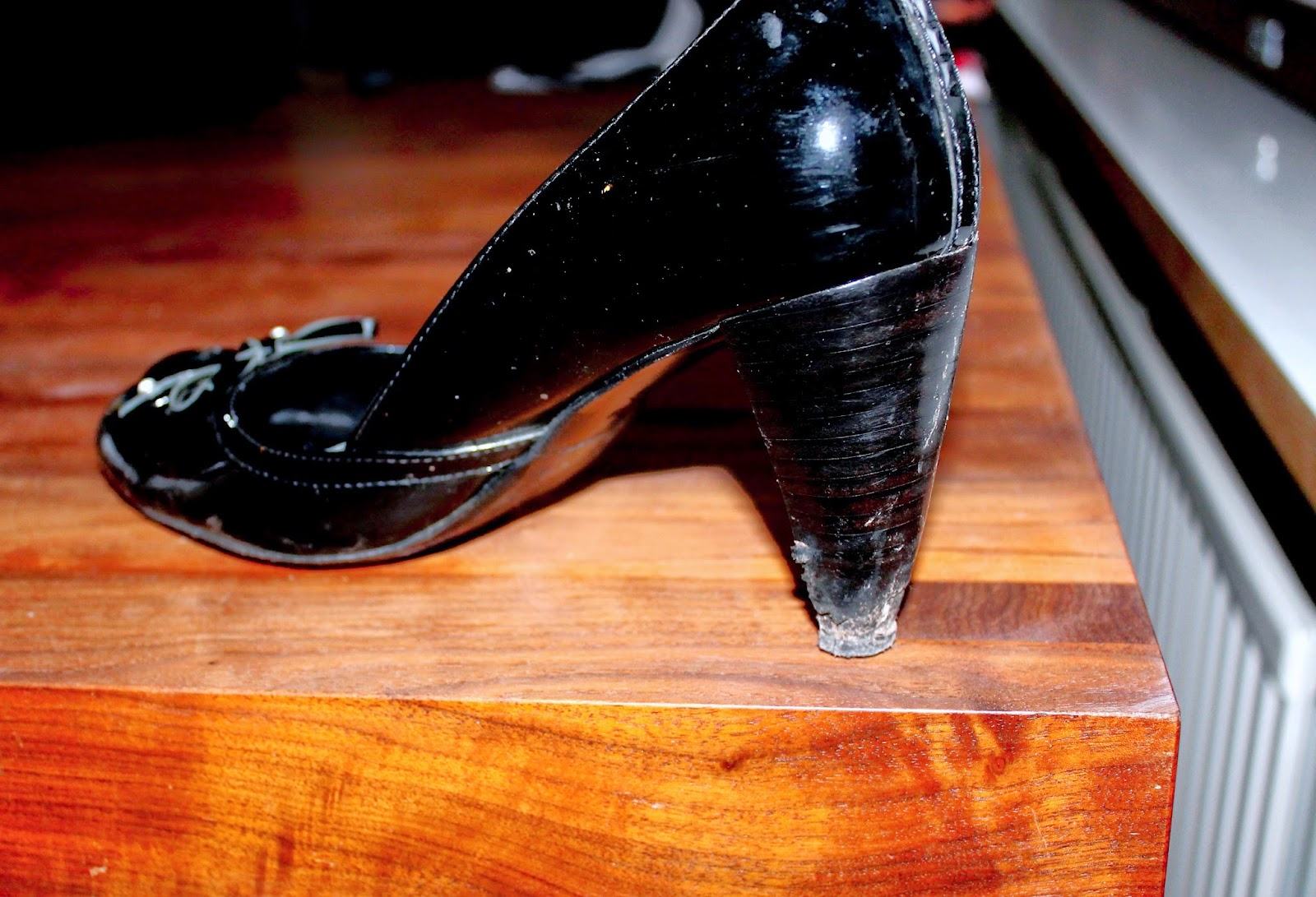DIY prettier heels, to find instructions in photos see my blog