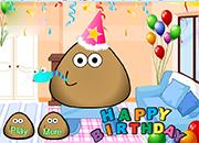 juegos de pou happy birthday