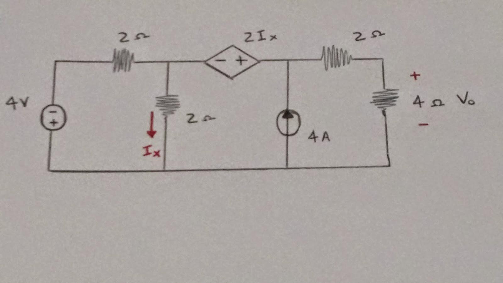 Circuito Eletricos : Exercício de circuitos elétricos fonte de corrente aluno de