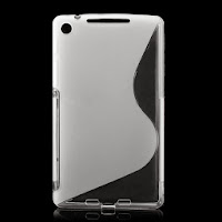 TPU Jelly Case for ASUS Google Nexus 7 2 ii - Transparant