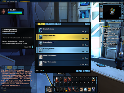 Star Trek Online - Auxiliary Battery