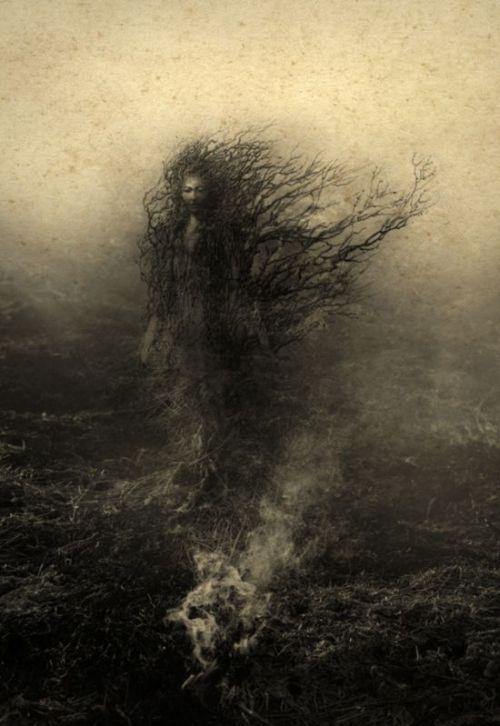 Yaroslav Gerzhedovich arte pintura fotografia surreal fantasia sombria gótica photoshop