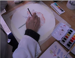 Pintando acuarela