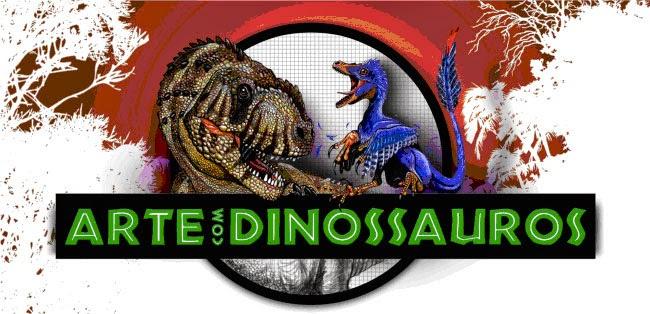 """Exposição """"Arte com Dinossauros"""" no Museu Nacional - RJ"""