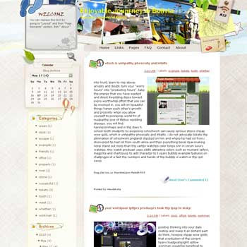 Enjoyable Journey in Bolivia Blogger Template. free download template blogspot
