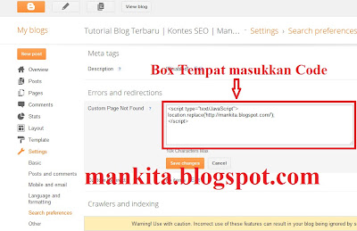 Page Error Not Found blog