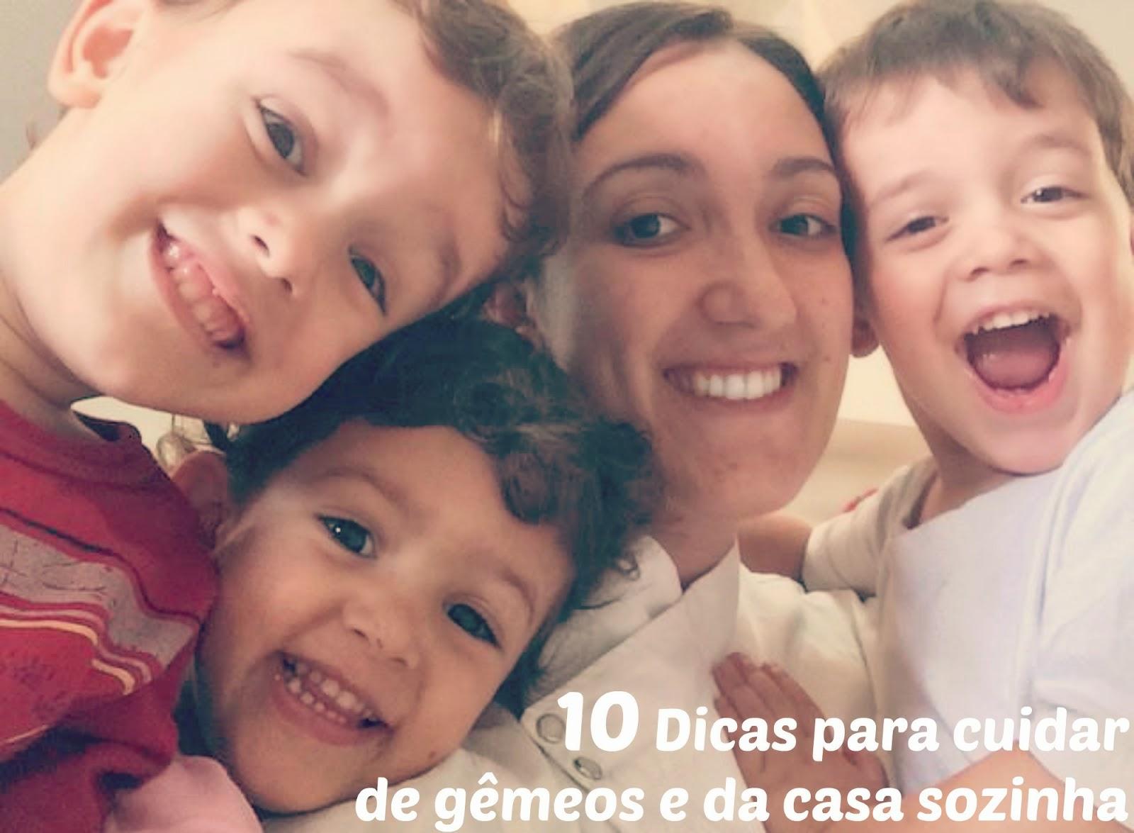 10 Dicas para cuidar de gêmeos e da casa sozinha