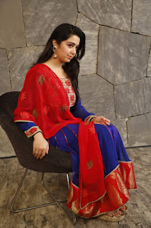 Charmi Kaur Pictures in Salwar Kameez at Jyothi Lakshmi Movie Interview ~ Celebs Next