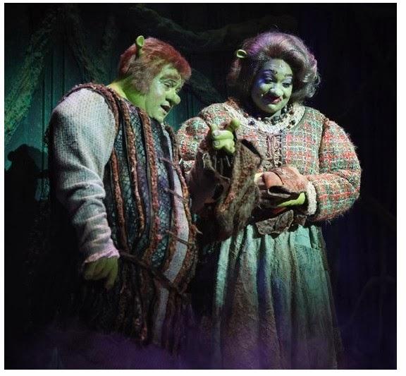 Shrek the Musical Costumes: Mama and Papa Ogre