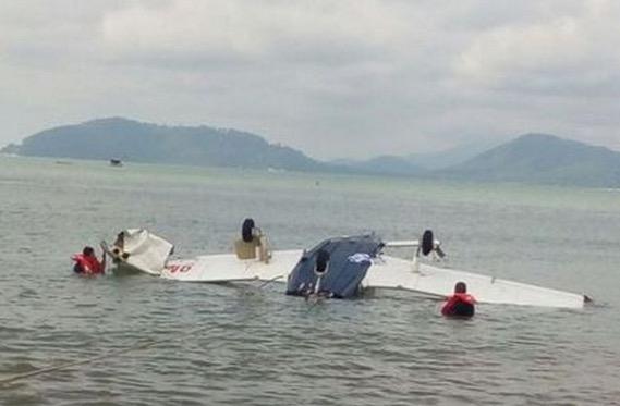 Pesawat terhempas di Pulau Pangkor
