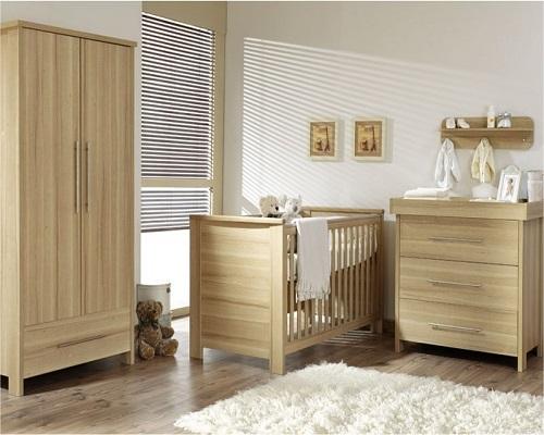 Cuisine Un Blanc : Décoration bois bébé  Bébé et décoration  Chambre bébé
