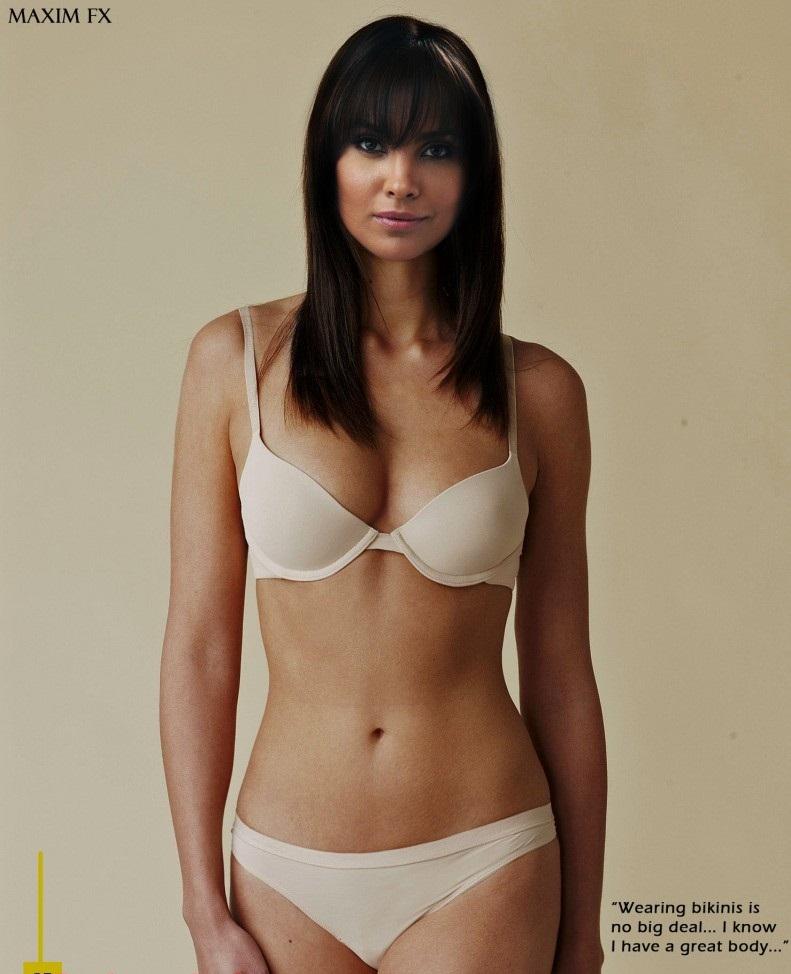 Lara Dutta Hot In Bikini Dress