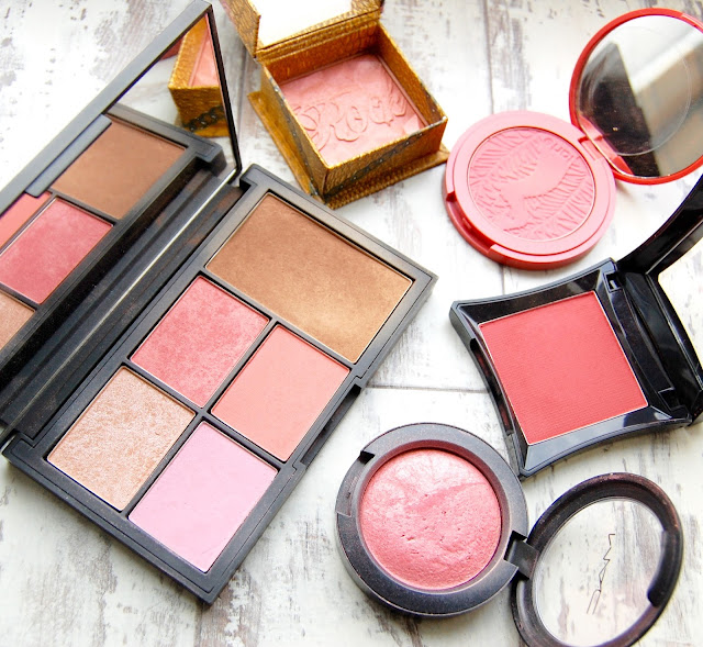 Through New Eyesx Blush Review - Mac, NARS, Illamasqua, Tarte, Benefit