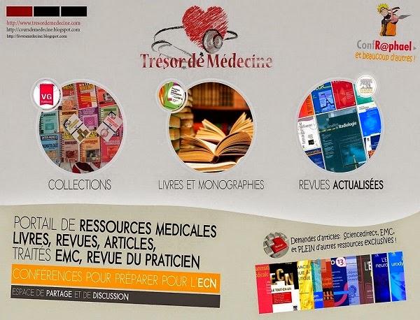 Trésor de Médecine - Forum des sciences médicales