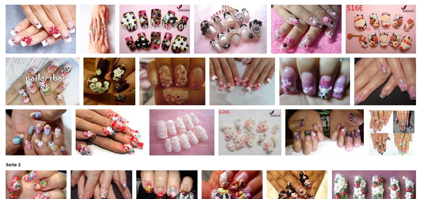 Miss Cherrychaos: Nail Art Fails aka. Nageltrends des Grauens