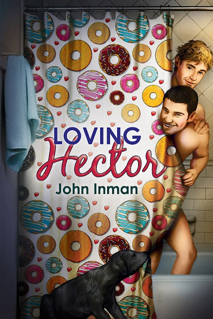 Loving Hector, gay romance novel with cover illustration by Paul Richmond