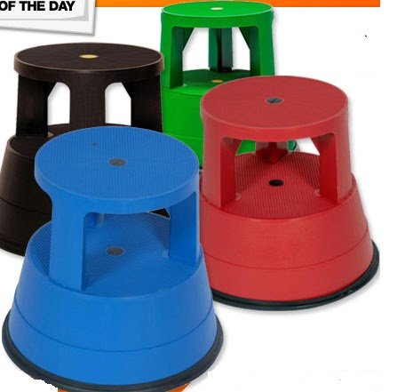 Printable Coupons Rolling Stable Step Stool 20 Shipped