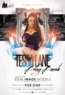 """Ideal Image Models Tessa Lane Birthday at Eden"""