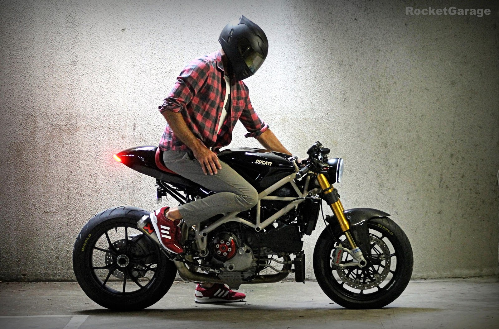 Ducati Streetfighter Cafe Racer