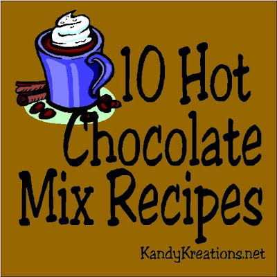 Stay warm this winter with a cup of hot chocolate made from one of these 10 yummy mixes.