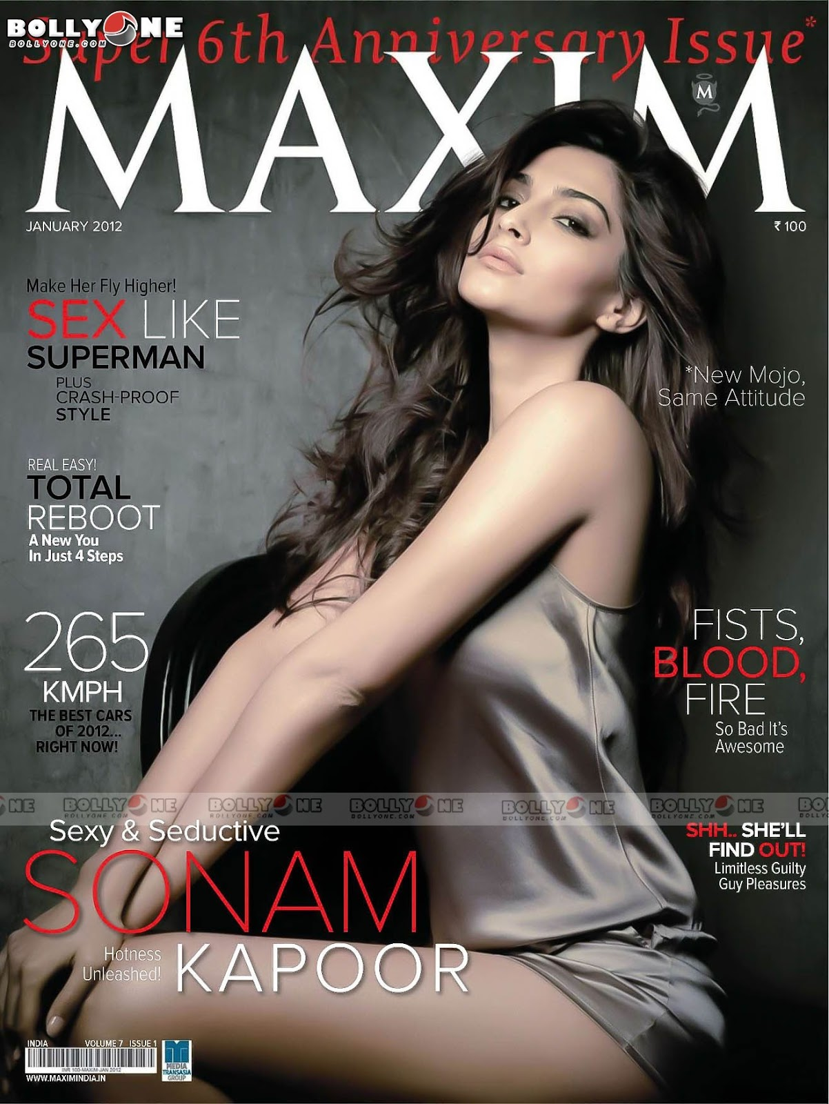 Sonam Kapoor Maxim Scan Wallpaper1 - Sonam Kapoor MAXIM HQ Wallpapers