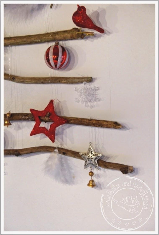 Nudelholz und nadelkissen weihnachtsdeko for Weihnachtsdeko baum
