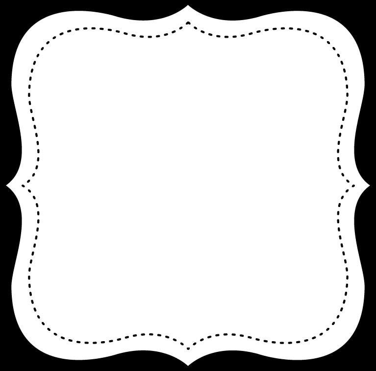 Marcos en blanco y negro para imprimir gratis oh my - Cuadros con marco blanco ...