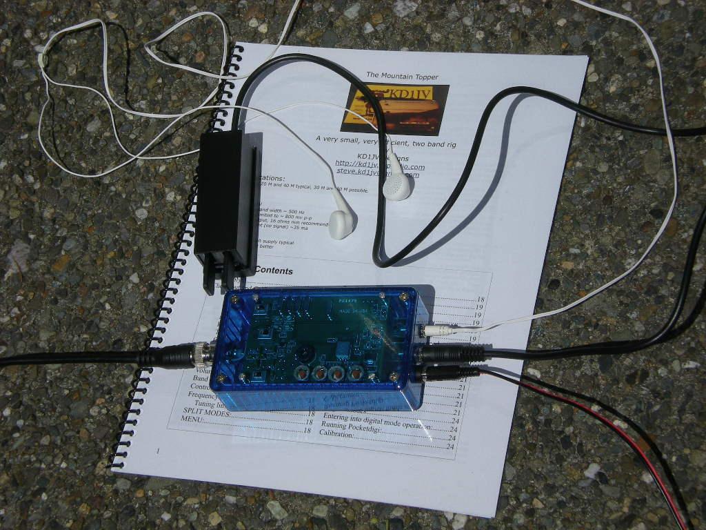 Ad7bps Radio And Food Blog 2012 Wa0uwh Electronics Ham Micro Fm Transmitter 72 Bob