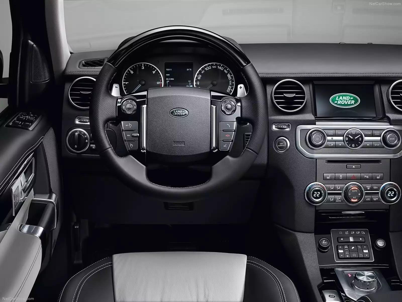 Hình ảnh xe ô tô Land Rover Discovery XXV Edition 2014 & nội ngoại thất