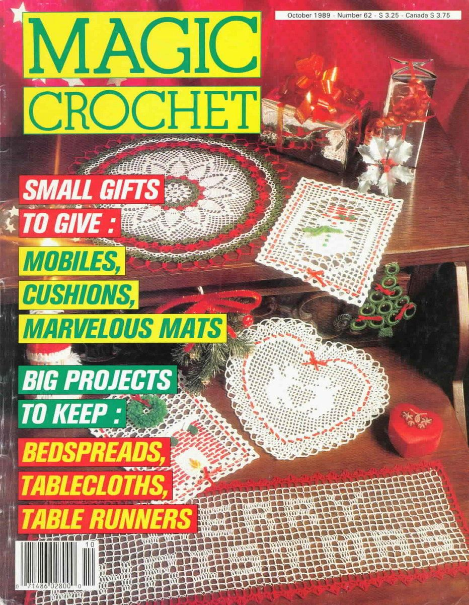 Magic Crochet No. 62 ~ Free Crochet Patterns