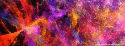 Couverture facebook harmonie de couleur