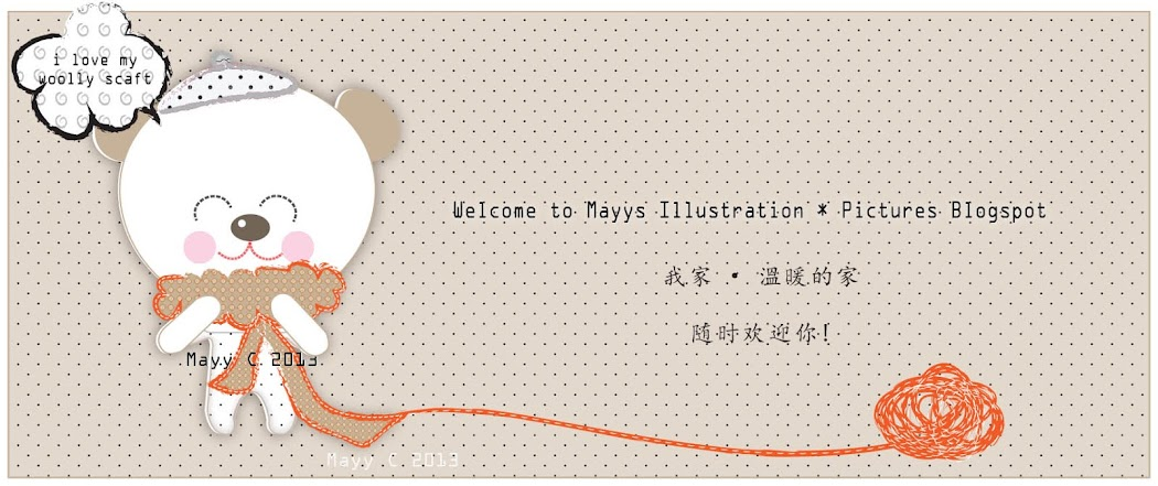 May's Illustration BlogSpot