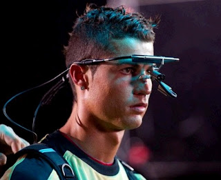Cristiano Ronaldo worked in the advertising in July