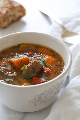 35+ Best Recipes for Slow Cooker Beef Stew featured on SlowCookerFromScratch.com