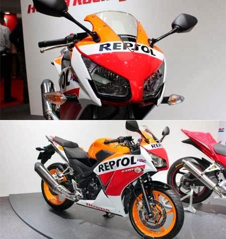 Honda CBR 250 Repsol 2014