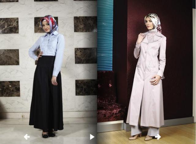 ازياء محجبات شتوية - Costumes veiled winter 2013
