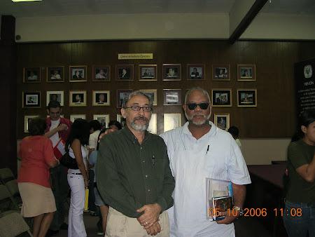 ANDRÉ CRUCHAGA Y ALEXIS GÓMEZ ROSALectura de poesía