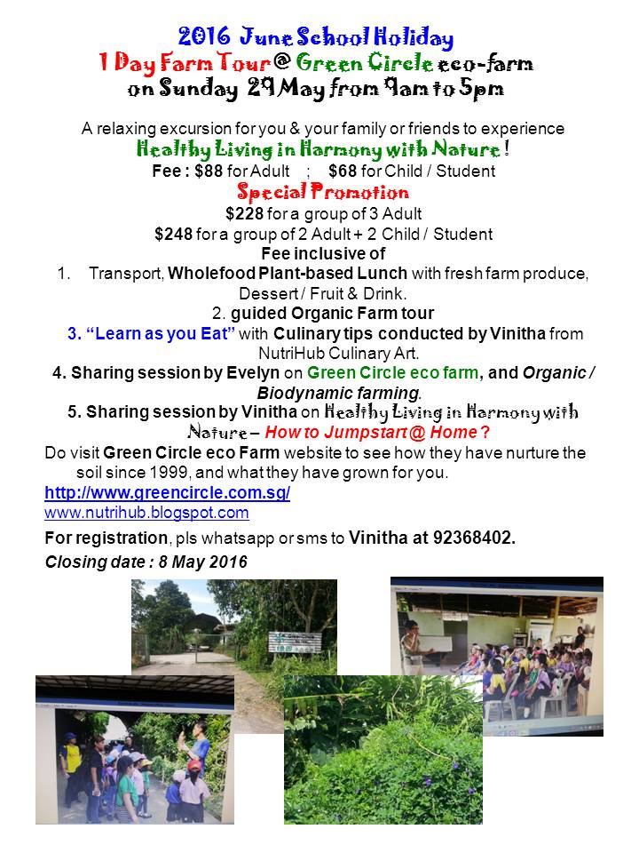 June School Holiday - 1 day Local Farm Tour