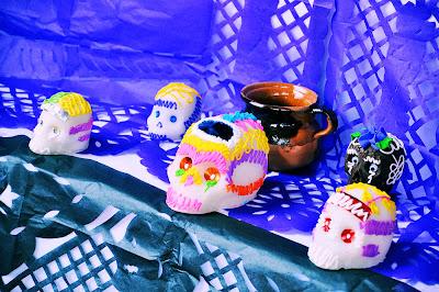 Altares y ofrendas para el Día de Muertos (Todos Santos)