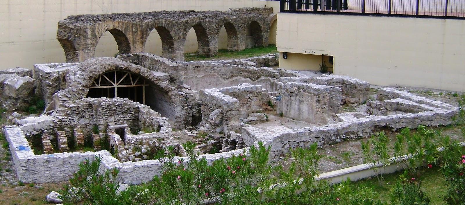 Baños Romanos Luisiana:Baños romanos de Almuñécar, unos de los muchos existentes en