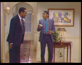 Huxtable Hotness The Cosby Show Season 1 Episode 2 Cliff Theo Bill Cosby Malcolm Jamal Warner