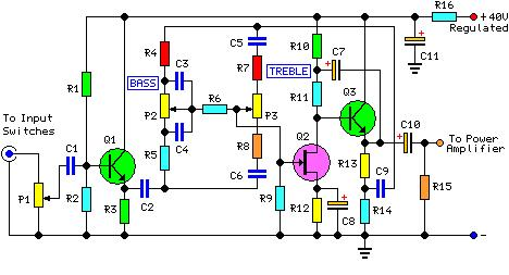 Solved: Pre-amplifier Circuit: Explain The Following Circu.